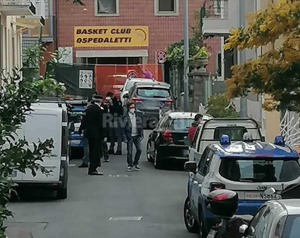 ospedaletti blitz polizia