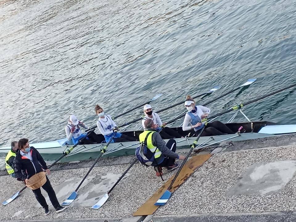 Quattro di coppia Rosa Canottieri Sanremo