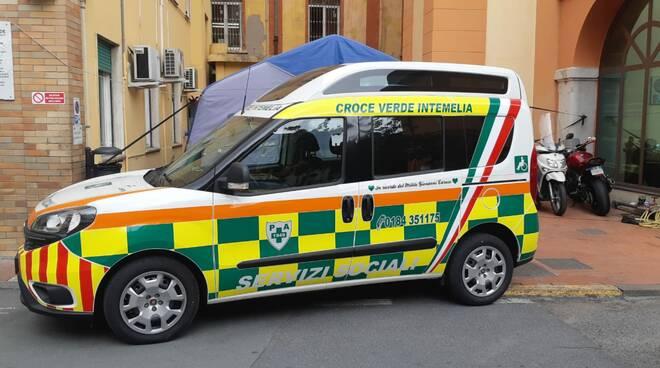 riviera24 - ambulanza croce verde intemelia disabili