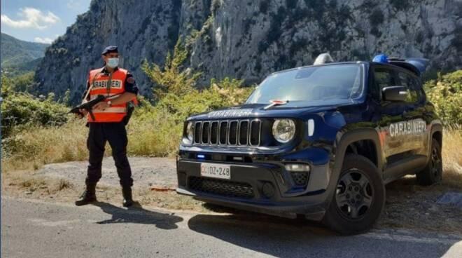 riviera24 - carabinieri posto blocco montagna