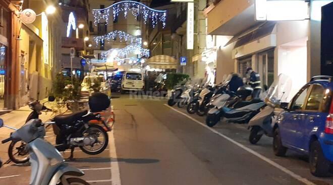 riviera24 - polizia mezzo rai incidente