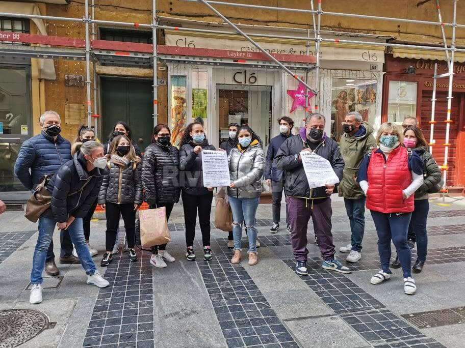riviera24 - protesta ristoranti sdanremo
