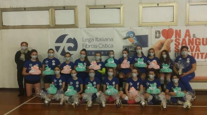 Riviera24- San Giovanni Volley Ospedaletti under15