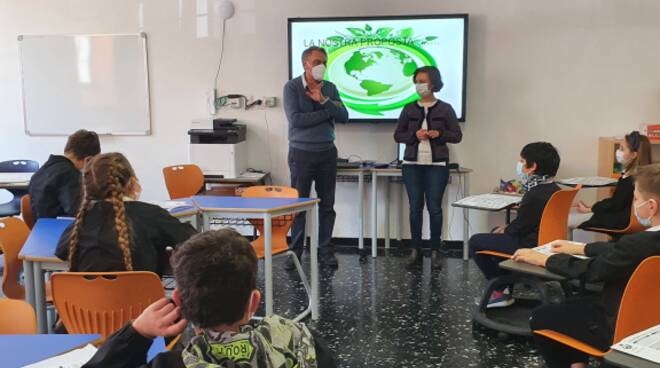 Scuola primaria di Pieve di Teco
