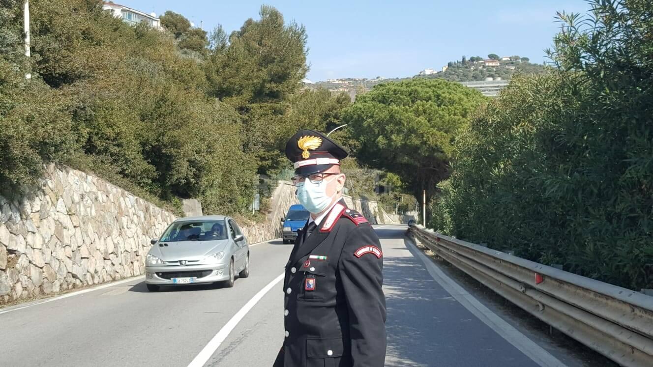 Tamponamento a catena a San Lorenzo al Mare