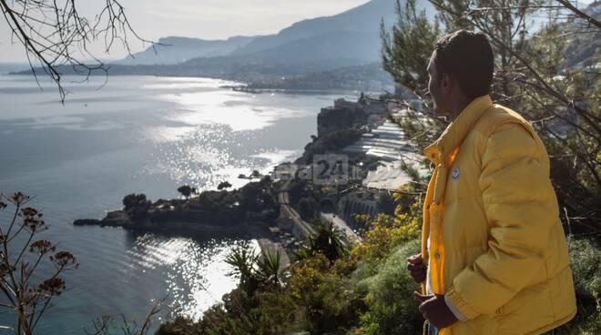 Ventimiglia migranti no border passo della morte grimaldi