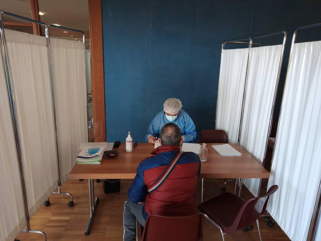 Camporosso, vaccinazioni ai frontalieri