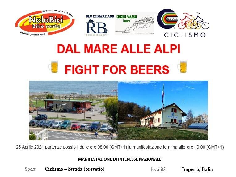 Dal mare alle Alpi-Fight for beers