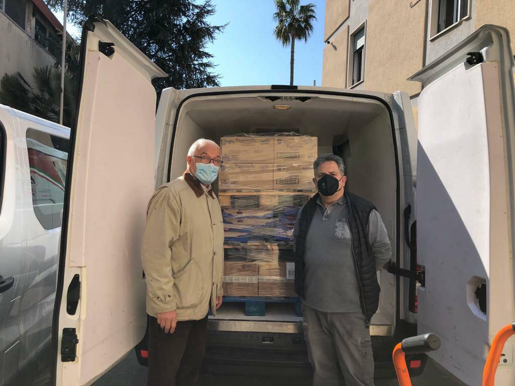 Donazione di Conad Permare, Fratelli Beccaria e Rotary club Sanremo
