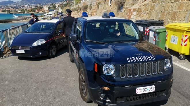 controlli carabinieri pasqua 3 ponti sanremo