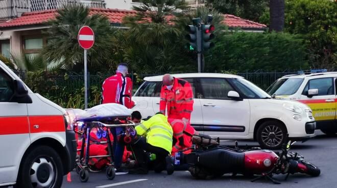 incidente ospedaletti