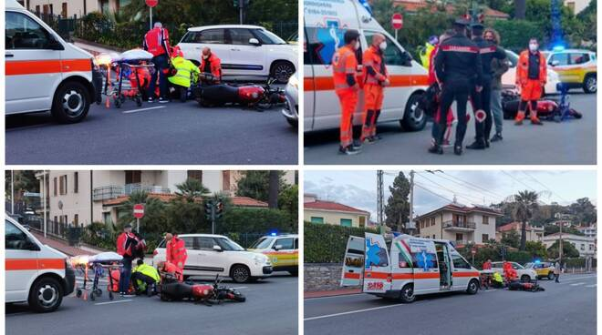 incidente ospedaletti collage