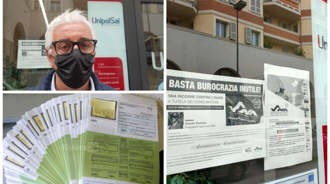 sciopero agenzie assicurative collage
