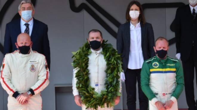 Grand Prix de Monaco Historique podio serie d