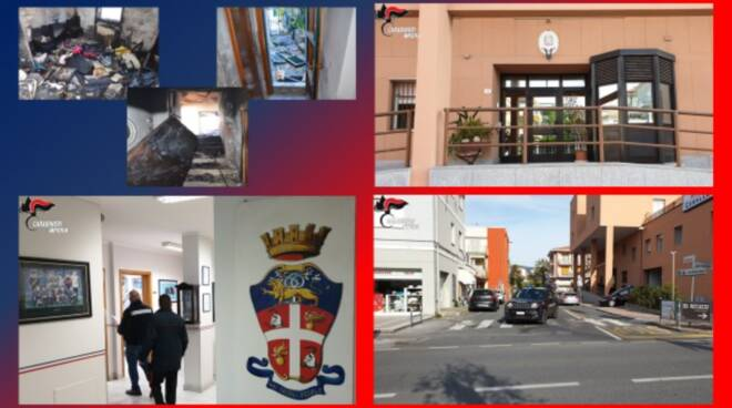 incendio San Bartolomeo arresto