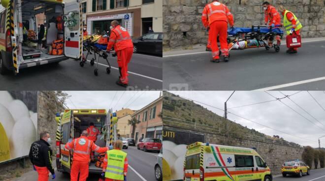 incidente corso Genova Ventimiglia