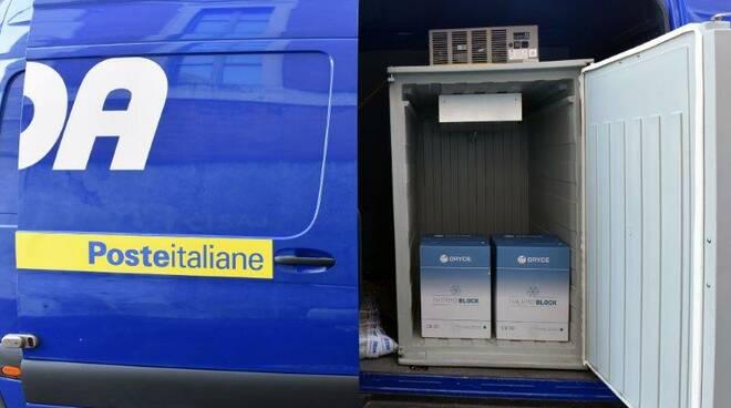 Poste Italiane consegna vaccini Moderna e AstraZeneca