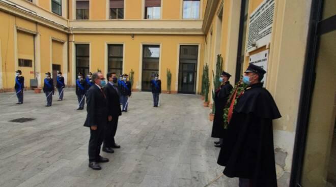 riviera24 - deposizione corona questura imperia anniversario polizia 169