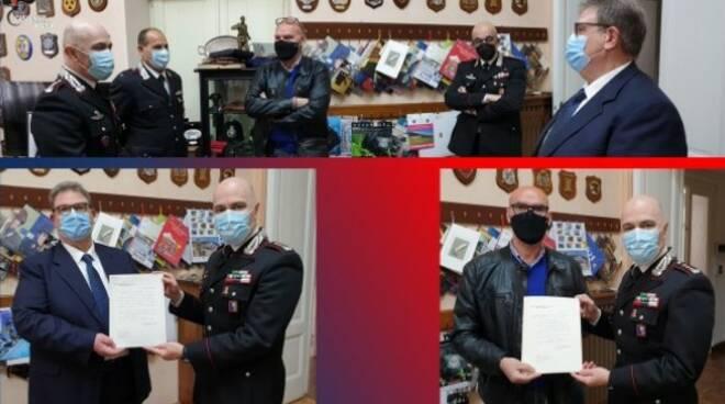 riviera24 -luogotenente Zoppi l'appuntato scelto Nizzetto