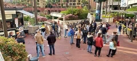 Sciopero dei dipendenti del Carrefour Monaco