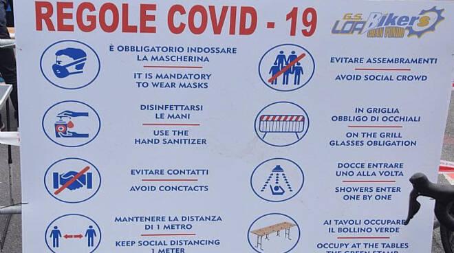 Trofeo Loabikers Covid-19 regole