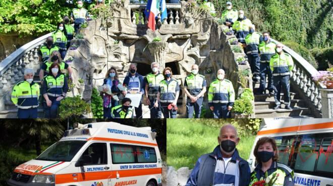 ambulanza protezione civile bordighera