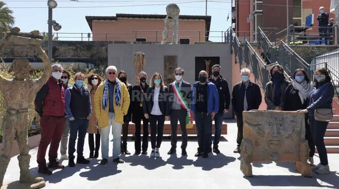 """Bordighera, inaugurato in Arziglia il """"Giardino di Cammi"""""""