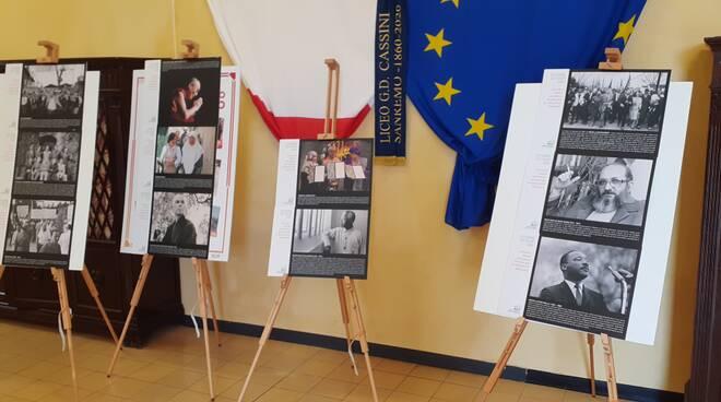 """Al Liceo Cassini la mostra fotografica \""""Costruttori di pace\"""""""