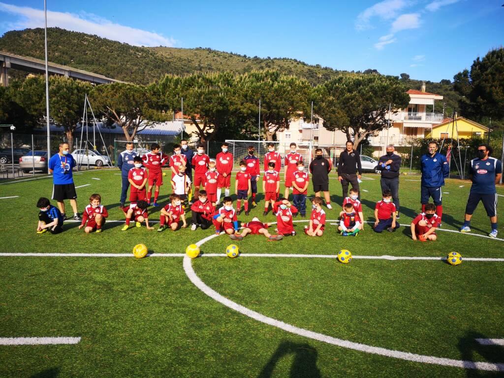 Diego Fuser alla Polisportiva Dilettantistica Vallecrosia Academy