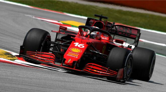 ferrari charles Leclerc Copyright Ferrari 2021