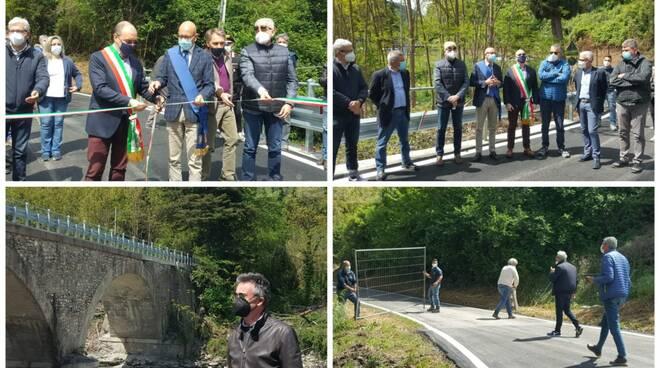 inaugurazione ponte ubaga collage