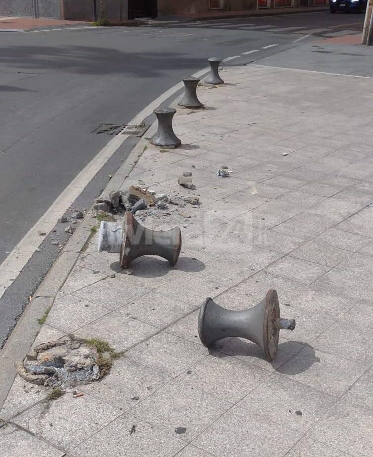 strike di pilastri piazza de amicis