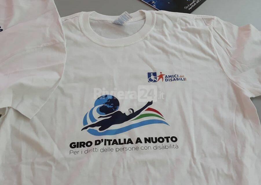 """""""Giro d'Italia a nuoto"""" presentazione"""