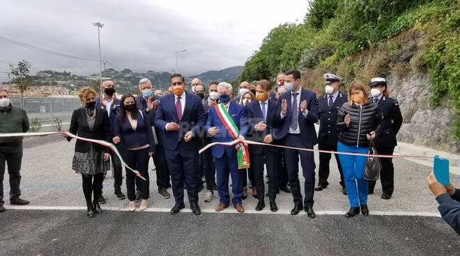 Inaugurazione parcheggio san secondo ventimiglia