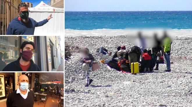 migranti ventimiglia reportage