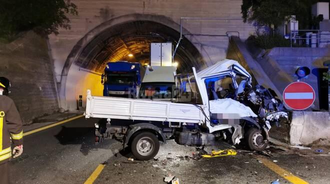 mortale autostrada ventimiglia