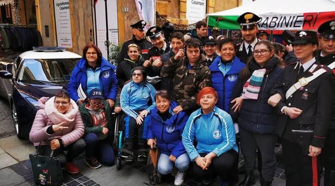 Polisportiva IntegrAbili e carabinieri