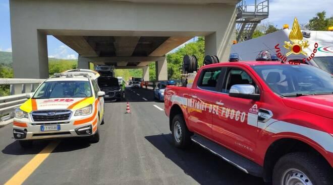 riviera24 - incidente autostrada