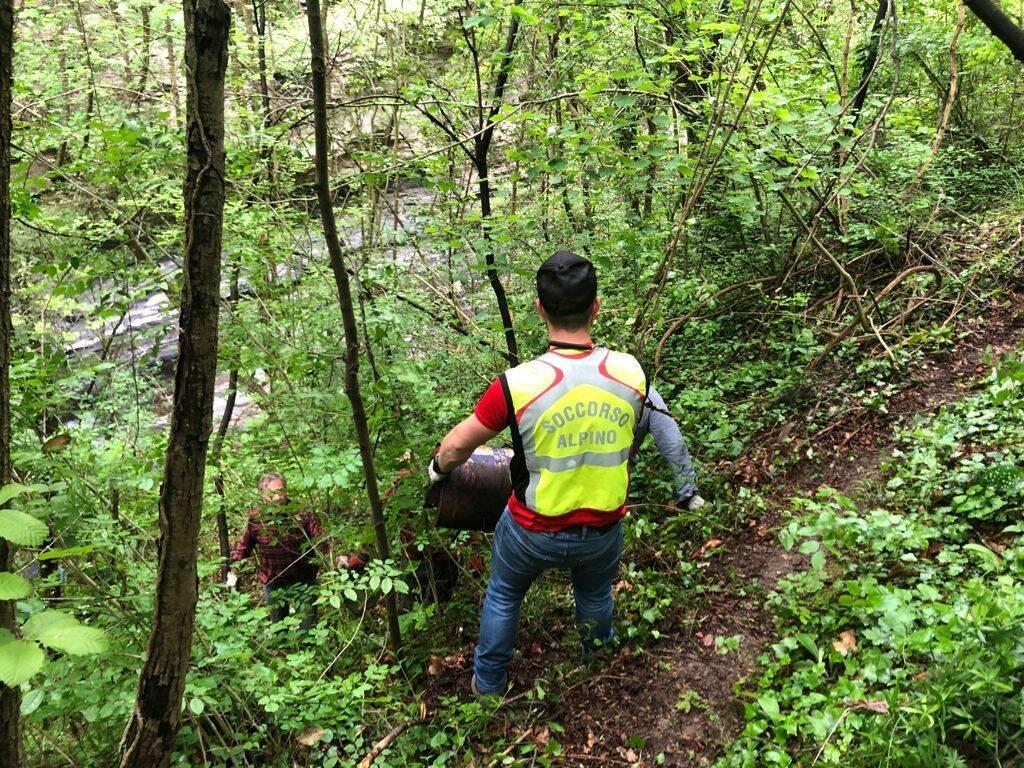 riviera24 - Pieve di Teco, bonifica dei sentieri
