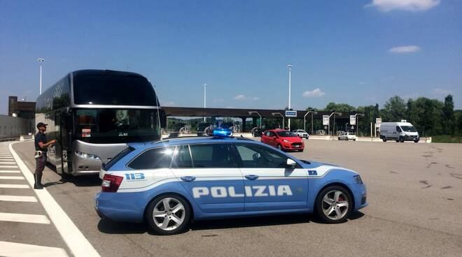 Riviera24- polizia stradale