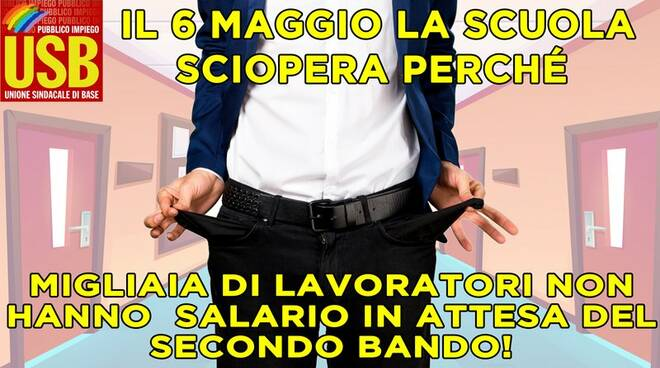 riviera24 - sciopero usb scuola