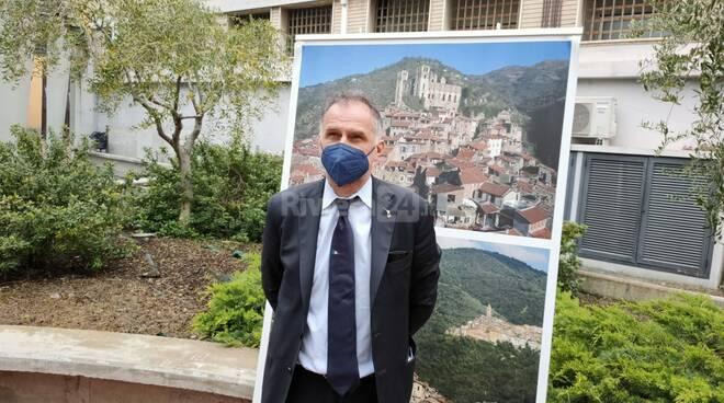 Visita del ministro del Turismo Massimo Garavaglia a Imperia