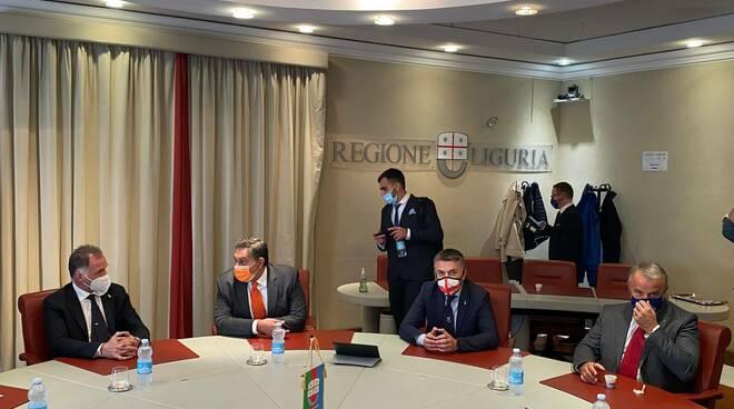 Visita del ministro Garavaglia a Genova