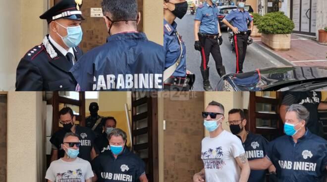 arresto carabinieri taggia