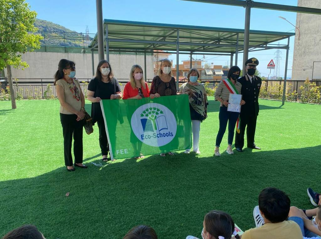 Bandiera Verde agli istituti scolastici di Arma, Taggia, Levà