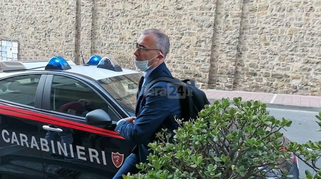 Carabinieri perquisizione arresto taggia