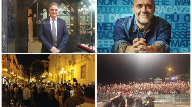 notte bianca collage