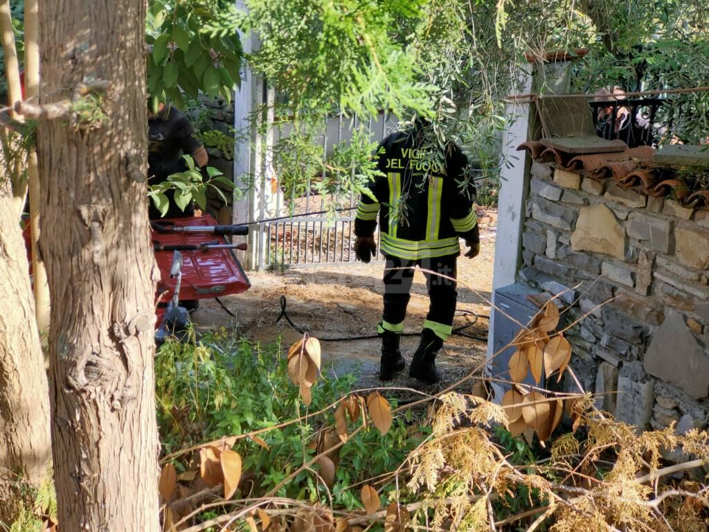 vigili del fuoco artallo