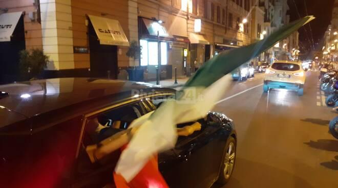 festeggiamenti italia austria