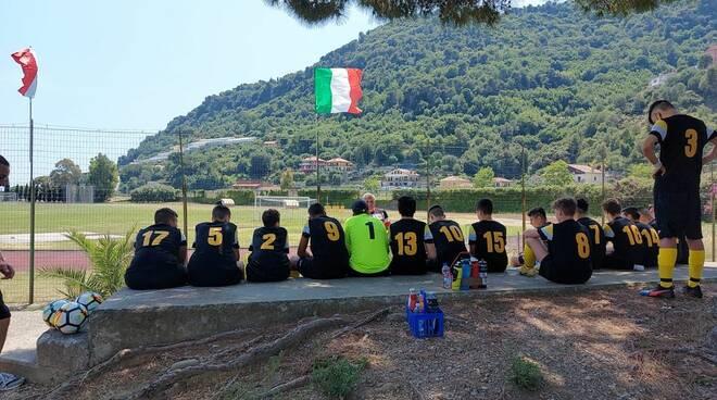 Giovanissimi 2006 della Polisportiva Vallecrosia Academy